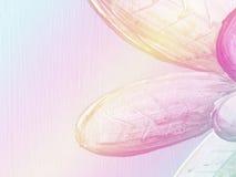 Abstracte toonkleur van bloemachtergrond Stock Afbeelding