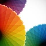 Abstracte toonladderachtergronden. stock illustratie