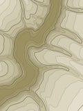 Abstracte topografische kaart. Vector vector illustratie