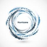 Abstracte tornadoachtergrond royalty-vrije illustratie