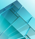 Abstracte transparante modules Royalty-vrije Stock Foto