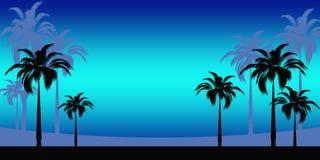 Abstracte Tropische vakantie Royalty-vrije Stock Foto's