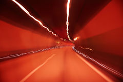 Abstracte Tunnel Stock Foto