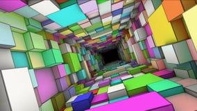 Abstracte tunnel Royalty-vrije Stock Afbeeldingen