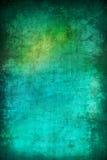 Abstracte turkooise de textuurachtergrond van Grunge Royalty-vrije Stock Afbeelding