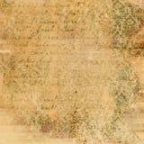 Abstracte uitstekende document textuur Royalty-vrije Stock Foto