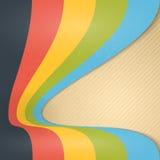 Abstracte Uitstekende Lintenachtergrond. Royalty-vrije Stock Afbeeldingen