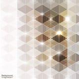 Abstracte uitstekende moderne premie hexadecagon vector Royalty-vrije Stock Fotografie