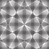 Abstracte uitstekende naadloze achtergrond, vectorillustratie, monoc Royalty-vrije Stock Afbeelding