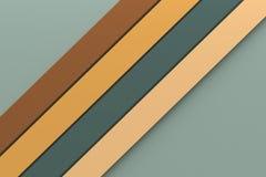 Abstracte uitstekende van de achtergrond toonkleur minimale ontwerpstreep lin Royalty-vrije Stock Fotografie