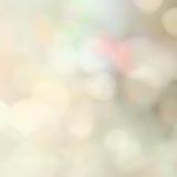 Abstracte vakantieachtergrond, mooie glanzende Kerstmislichten, g Royalty-vrije Stock Foto's