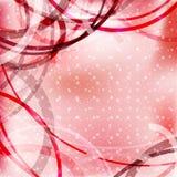 Abstracte valentijnskaart Royalty-vrije Stock Afbeelding