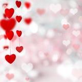 Abstracte valentijnskaartachtergrond Royalty-vrije Stock Afbeeldingen