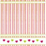 Abstracte valentijnskaartenachtergrond Royalty-vrije Stock Fotografie