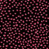 Abstracte Valentine& x27; s Dagharten Twee Harten Naadloze achtergrond voor uw ontwerp Vector illustratie Het concept van de lief Royalty-vrije Stock Foto's