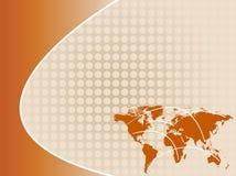 Abstracte van de bedrijfs aardetoon achtergrond Royalty-vrije Stock Afbeeldingen