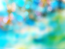 Abstracte van de bokehstraal reeks als achtergrond Royalty-vrije Stock Foto