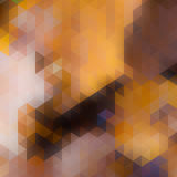 Abstracte van de zonsondergangherfst kaart als achtergrond. Royalty-vrije Stock Afbeelding