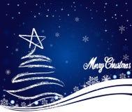 Abstracte van Kerstmis vector als achtergrond Royalty-vrije Stock Foto's