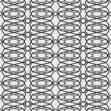 Abstracte Vastgestelde geometrisch van kunst moderne geometrische naadloze patternA van zwart-witte naadloos Vector nieuwe styl v stock illustratie
