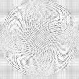 Abstracte vector achtergrondtextuurronde punten halftone, op een witte achtergrond stock illustratie