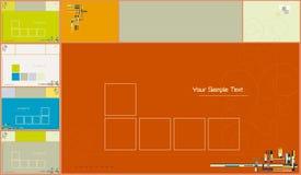 Abstracte vector als achtergrond vector illustratie