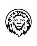 Abstracte vector de zakelijke verzekeringsamenvatting van de leeuwgroep Royalty-vrije Stock Fotografie