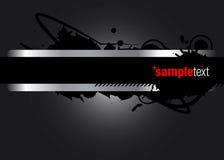 Abstracte Vector Grafisch Stock Afbeelding