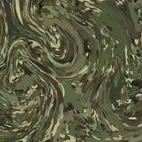 Abstracte Vector Militaire Camouflageachtergrond Stock Afbeelding