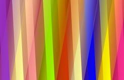 Abstracte vector multicolored in de schaduw gestelde golvende achtergrond met bellen, behang, vectorillustratie, stock illustratie