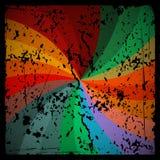 Abstracte Vector Retro Achtergrond Stock Afbeeldingen