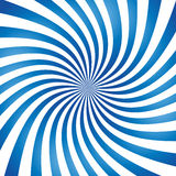 Abstracte vector spiraalvormige achtergrond royalty-vrije illustratie