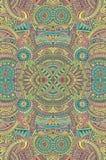 Abstracte vector stammen etnische achtergrond Royalty-vrije Stock Foto