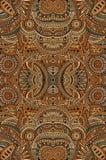 Abstracte vector stammen etnische achtergrond Stock Afbeelding