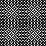 Abstracte vector zwart-witte herhaalde patronen, Stock Foto's