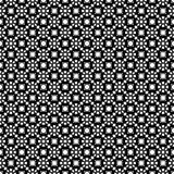 Abstracte vector zwart-witte herhaalde patronen, Royalty-vrije Stock Foto