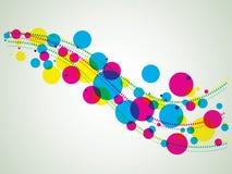 Abstracte vectorachtergrond Stock Foto