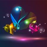 Abstracte vectorachtergrond. Royalty-vrije Stock Foto