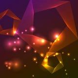 Abstracte vectorachtergrond. Royalty-vrije Stock Afbeelding