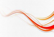 Abstracte vectorachtergrond Stock Illustratie