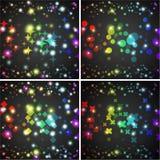 Abstracte vectorachtergrond. Creatieve dynamisch Royalty-vrije Stock Foto's