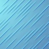Abstracte vectorachtergrond met blauwe lagen Stock Afbeelding