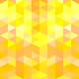 Abstracte vectorachtergrond met groene driehoeken Stock Fotografie