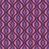 Abstracte vectorachtergrond - naadloos vectorpatroon in violette en lilac kleur Stock Afbeeldingen