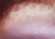 Abstracte vectorachtergrond van het behang van de driehoekenveelhoek Web D Stock Fotografie