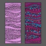 Abstracte vectorachtergronden Stock Foto's