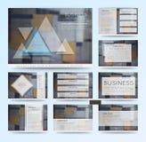 Abstracte vectorachtergronden van digitale technologieën Royalty-vrije Stock Afbeelding