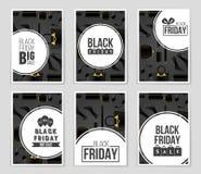 Abstracte vectorblack friday-lay-outachtergrond Voor creatief kunstontwerp, lijst, pagina, de stijl van het modelthema, banner, c Stock Foto