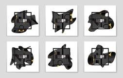 Abstracte vectorblack friday-lay-outachtergrond Voor creatief kunstontwerp, lijst, pagina, de stijl van het modelthema, banner, c Royalty-vrije Stock Fotografie