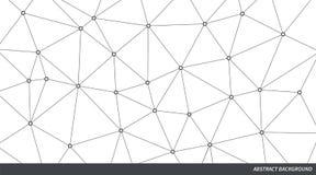 Abstracte Vectordriehoeksachtergrond Infographicillustratie voor bedrijfspresentatie, marketing project, malplaatje, concept Stock Fotografie